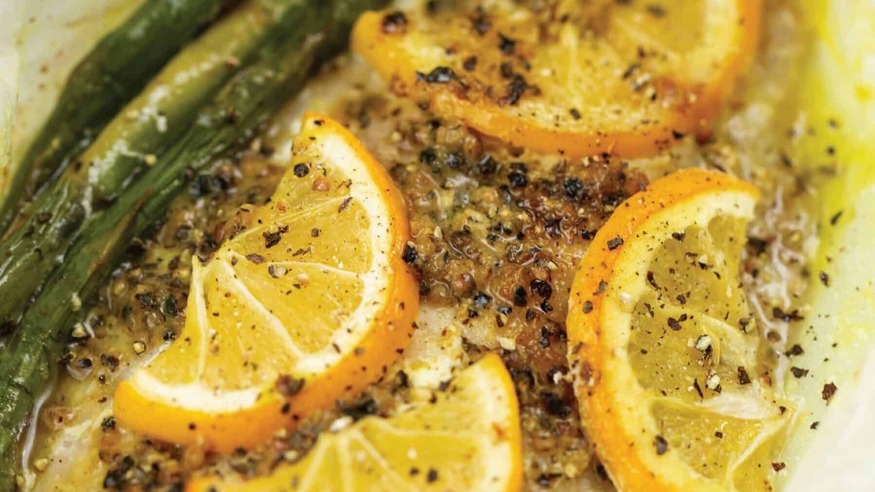 Baked Lemon Butter Fish