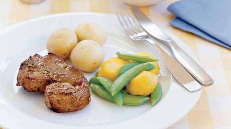 Balsamic Glazed Lamb Chops