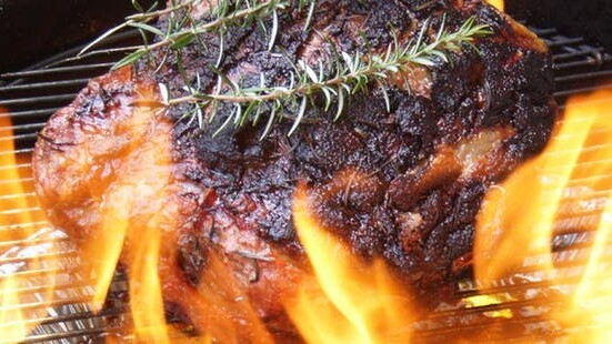 Barbecued Whole Beef Rump