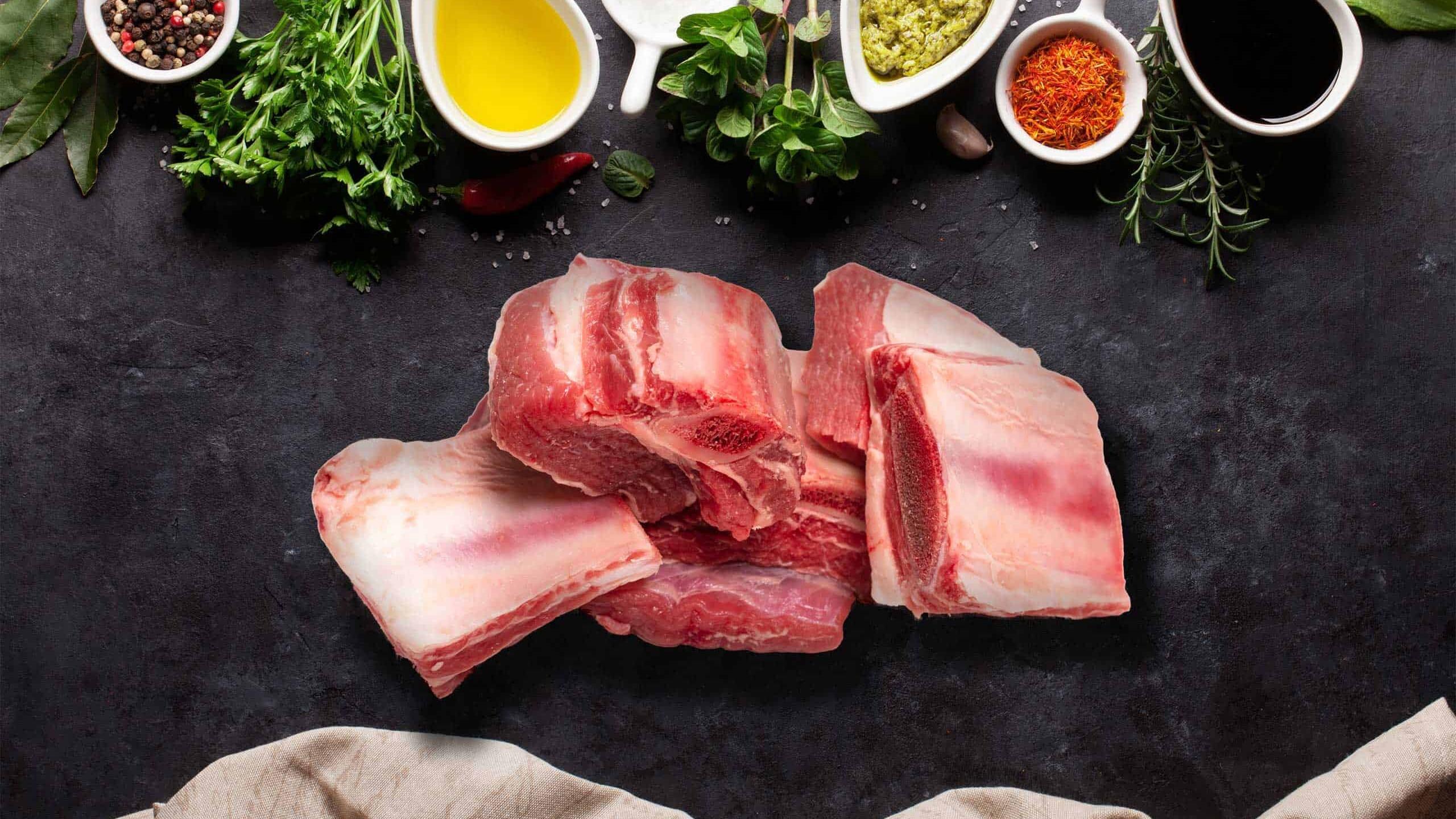 Beef Brisket Bones