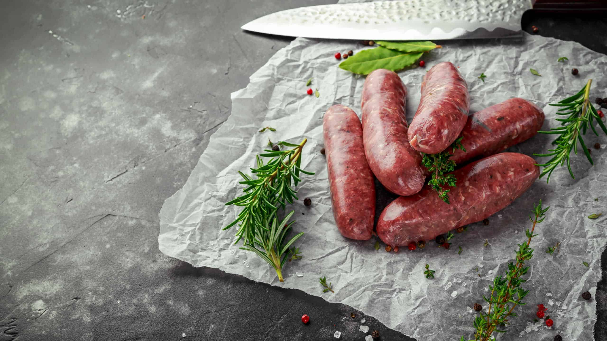 Beef Sausages (Gluten & Preservative Free)