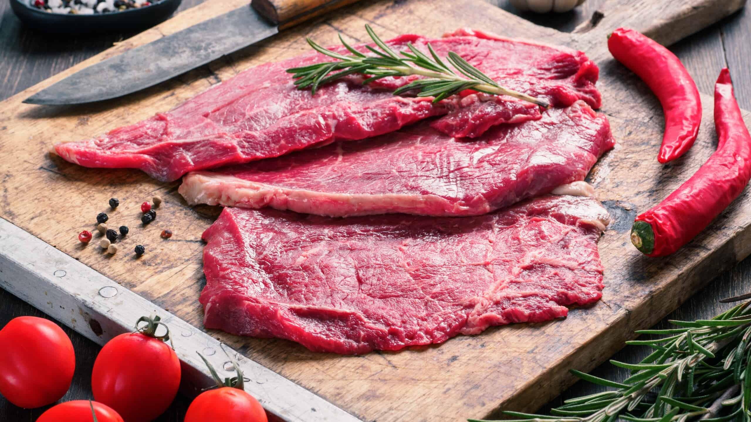 Beef Schnitzel (Plain)