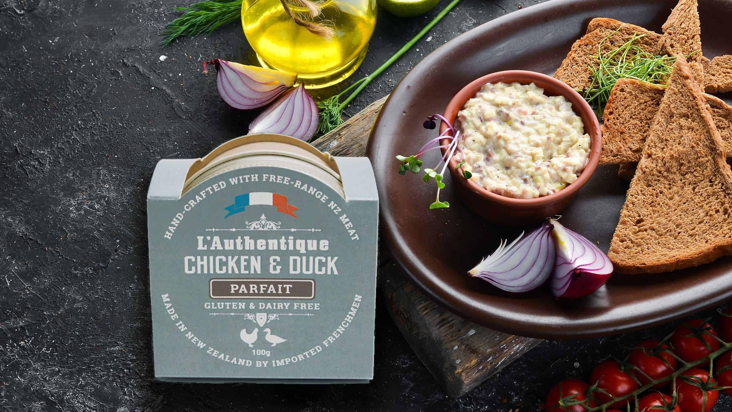 L'Authentique Chicken & Duck Parfait