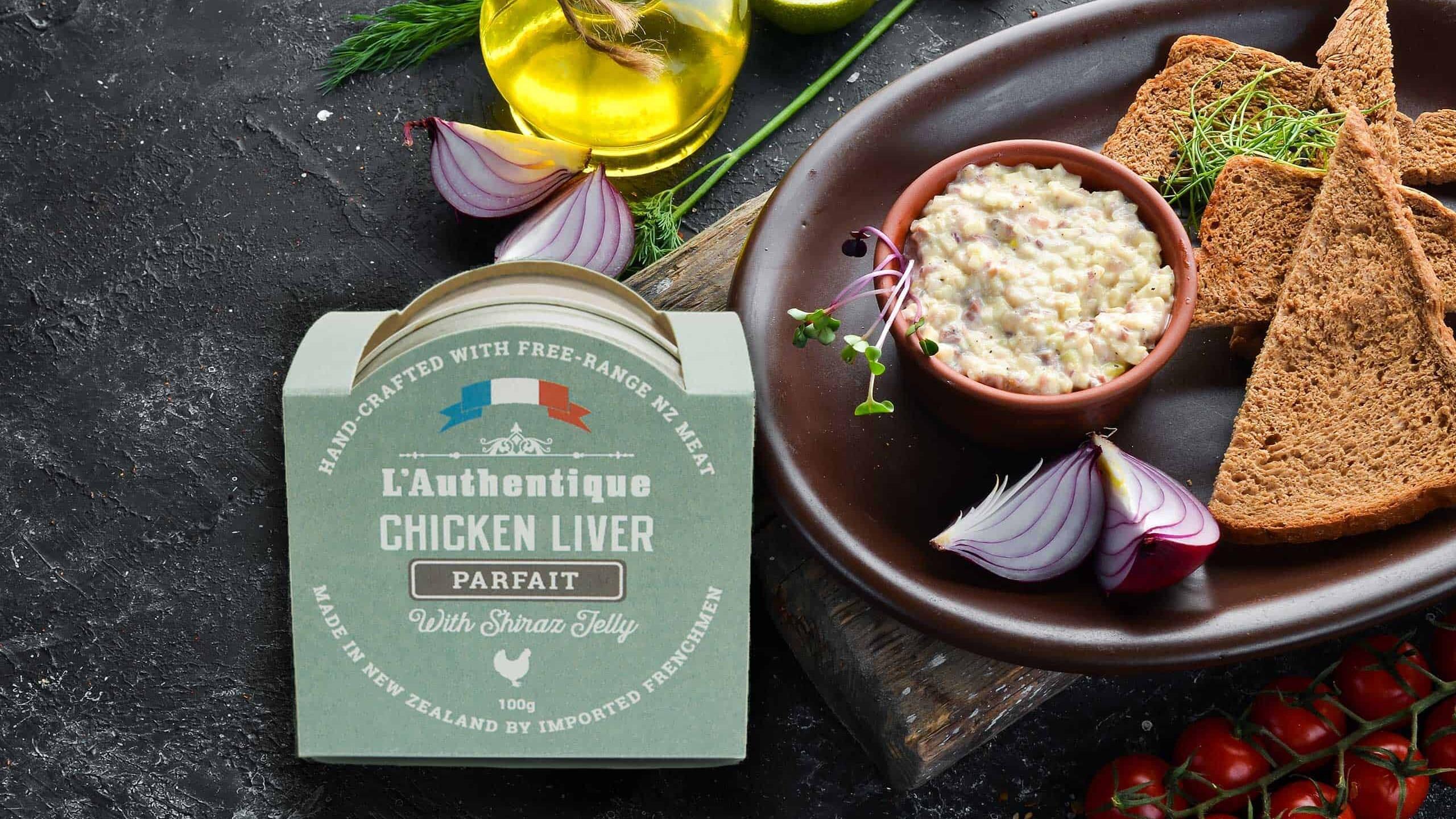 L'Authentique Chicken Liver Parfait