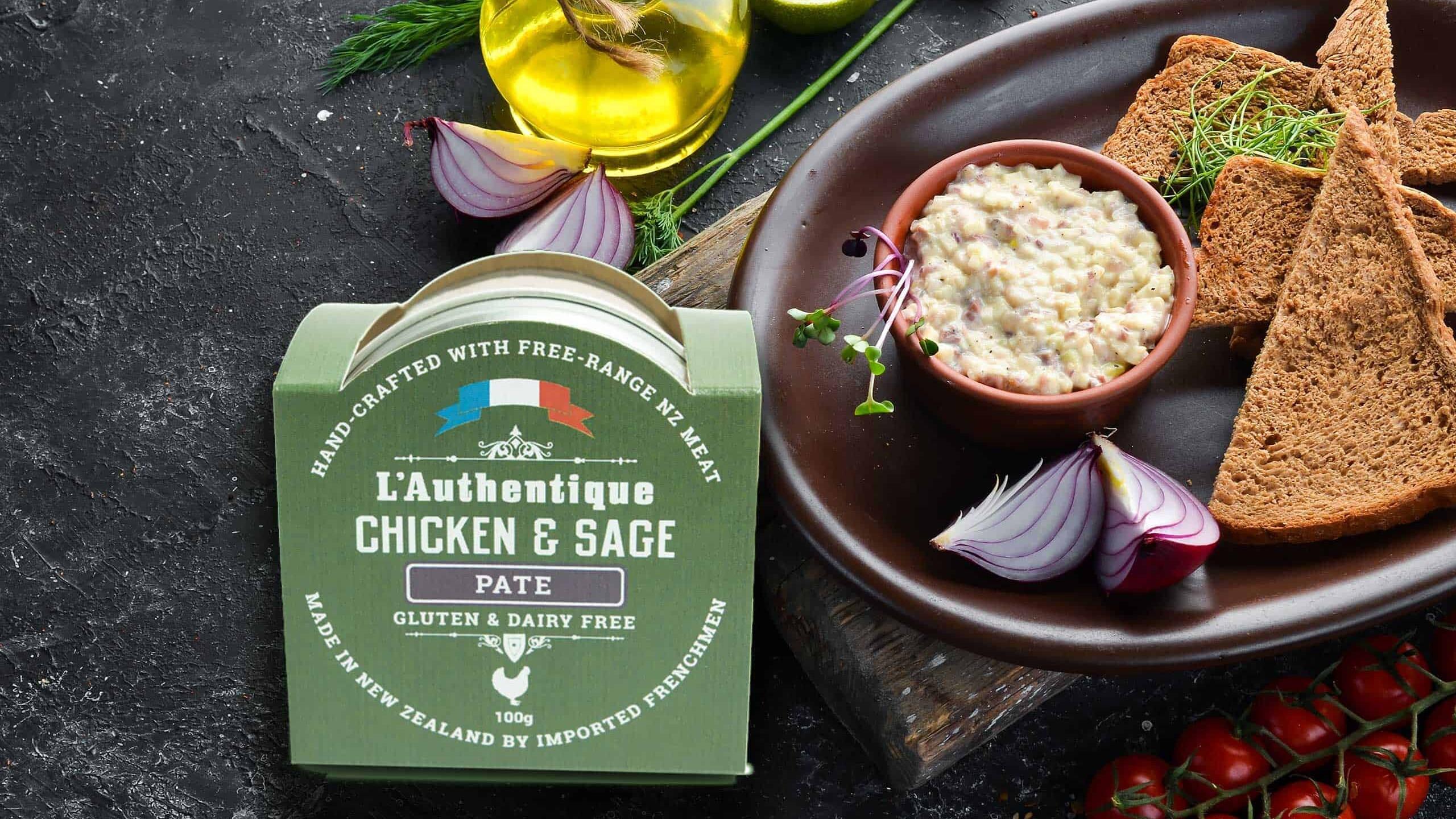 L'Authentique Chicken & Sage Pate