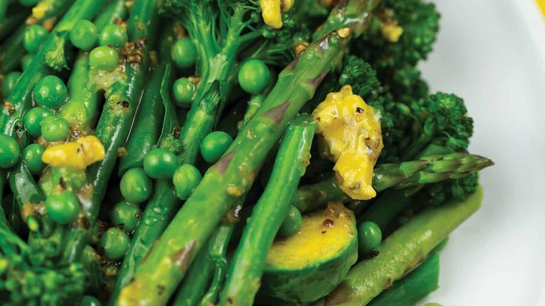 Lemon Butter Greens
