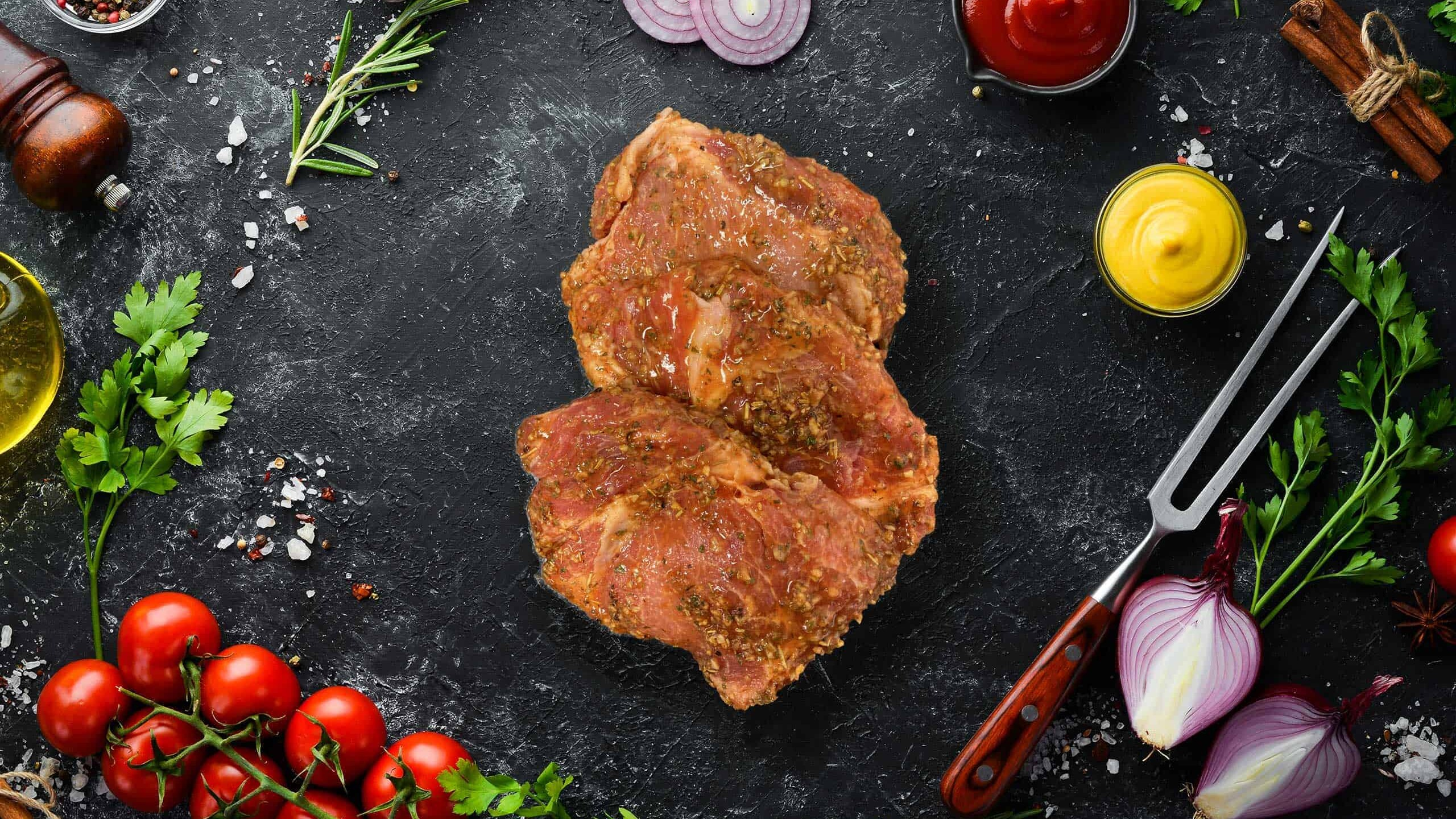 Pork Sirloin Steak (Lemon Oregano)