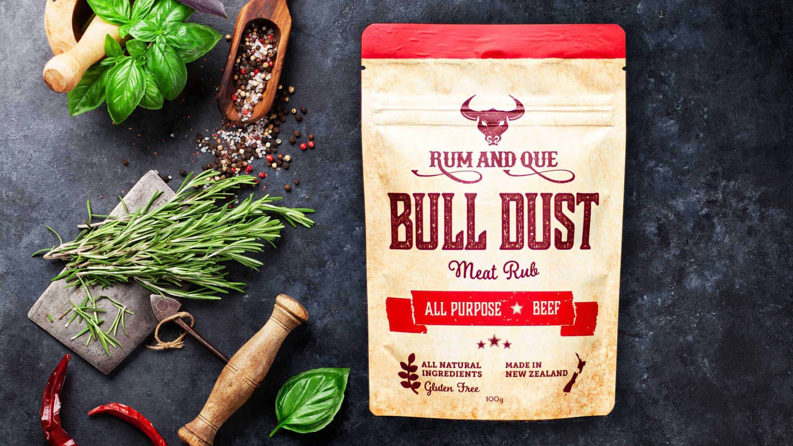 Rum & Que Bull Dust Meat Rub