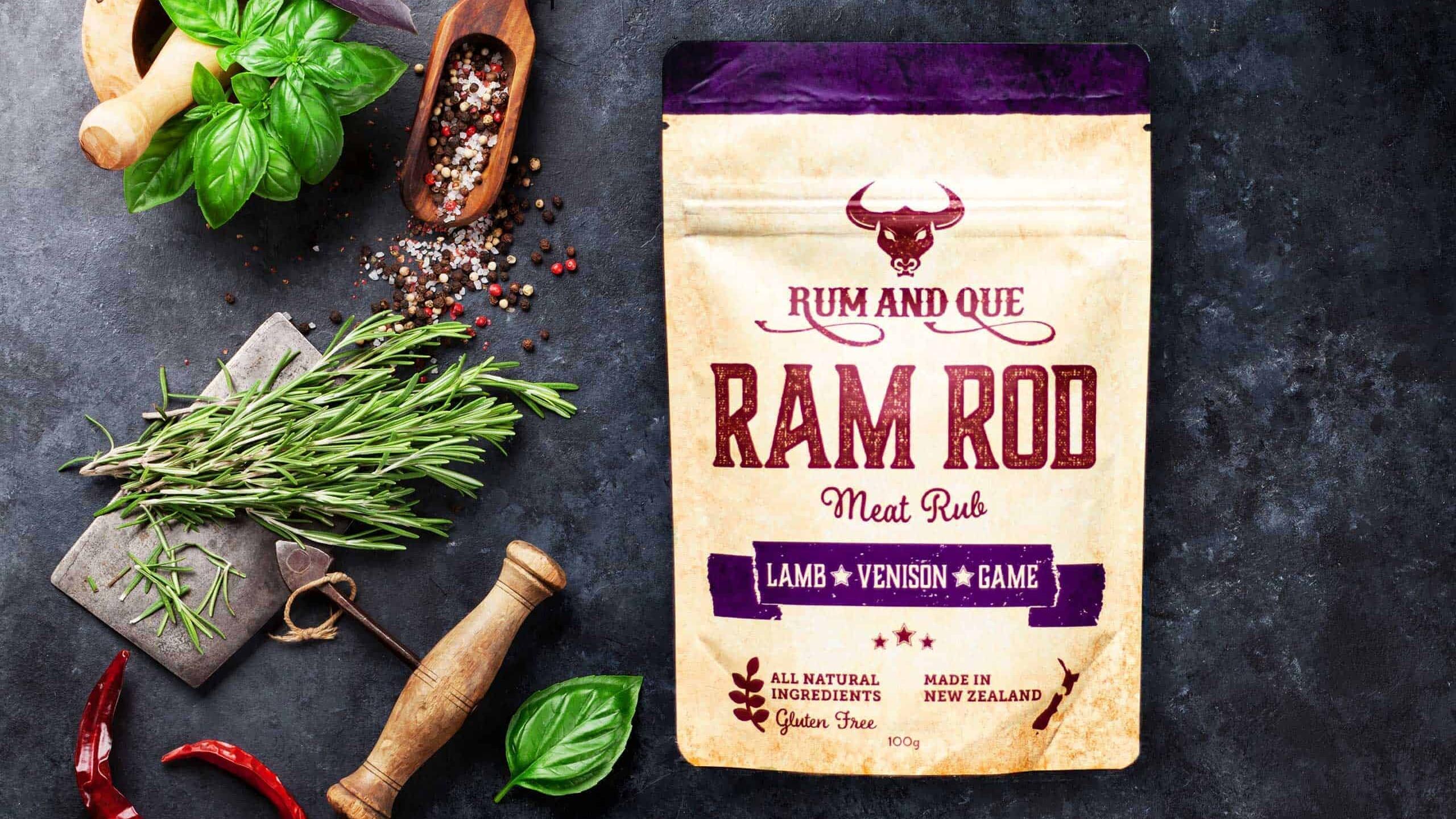 Rum & Que Ram Rod Meat Rub