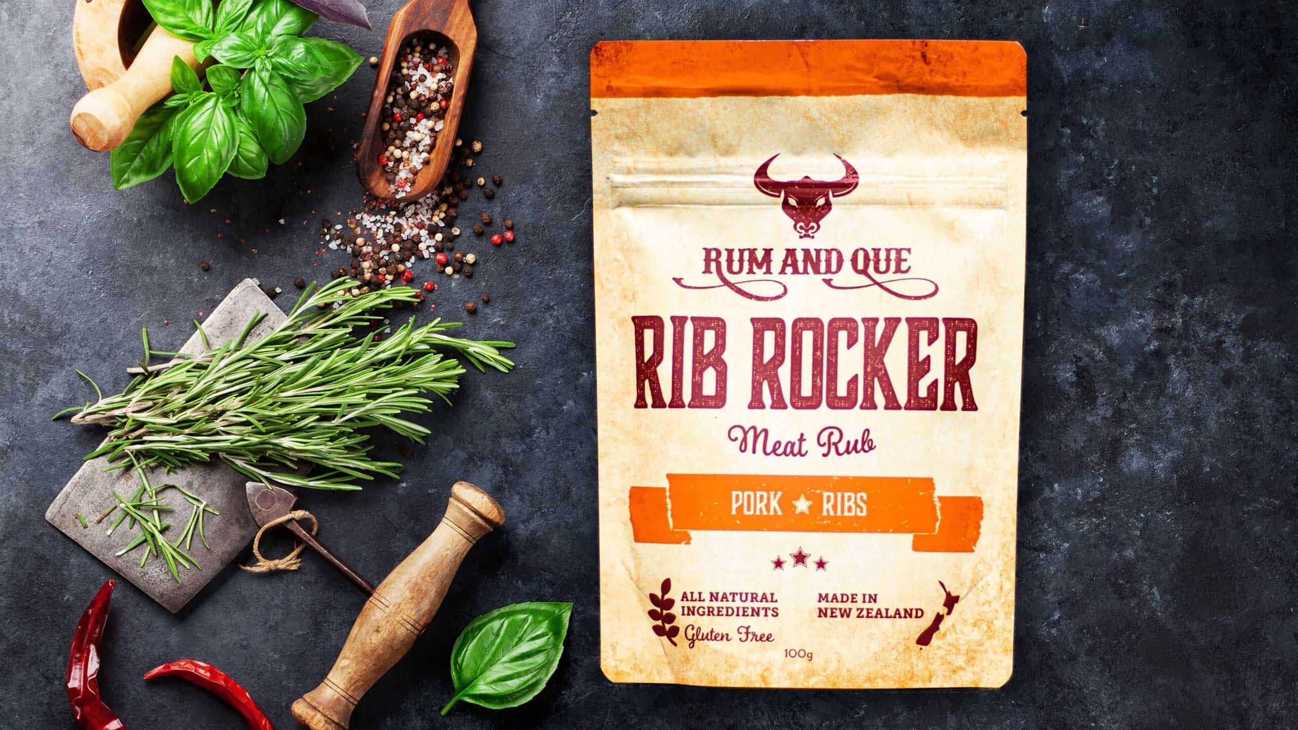 Rum & Que Rib Rocker Meat Rub