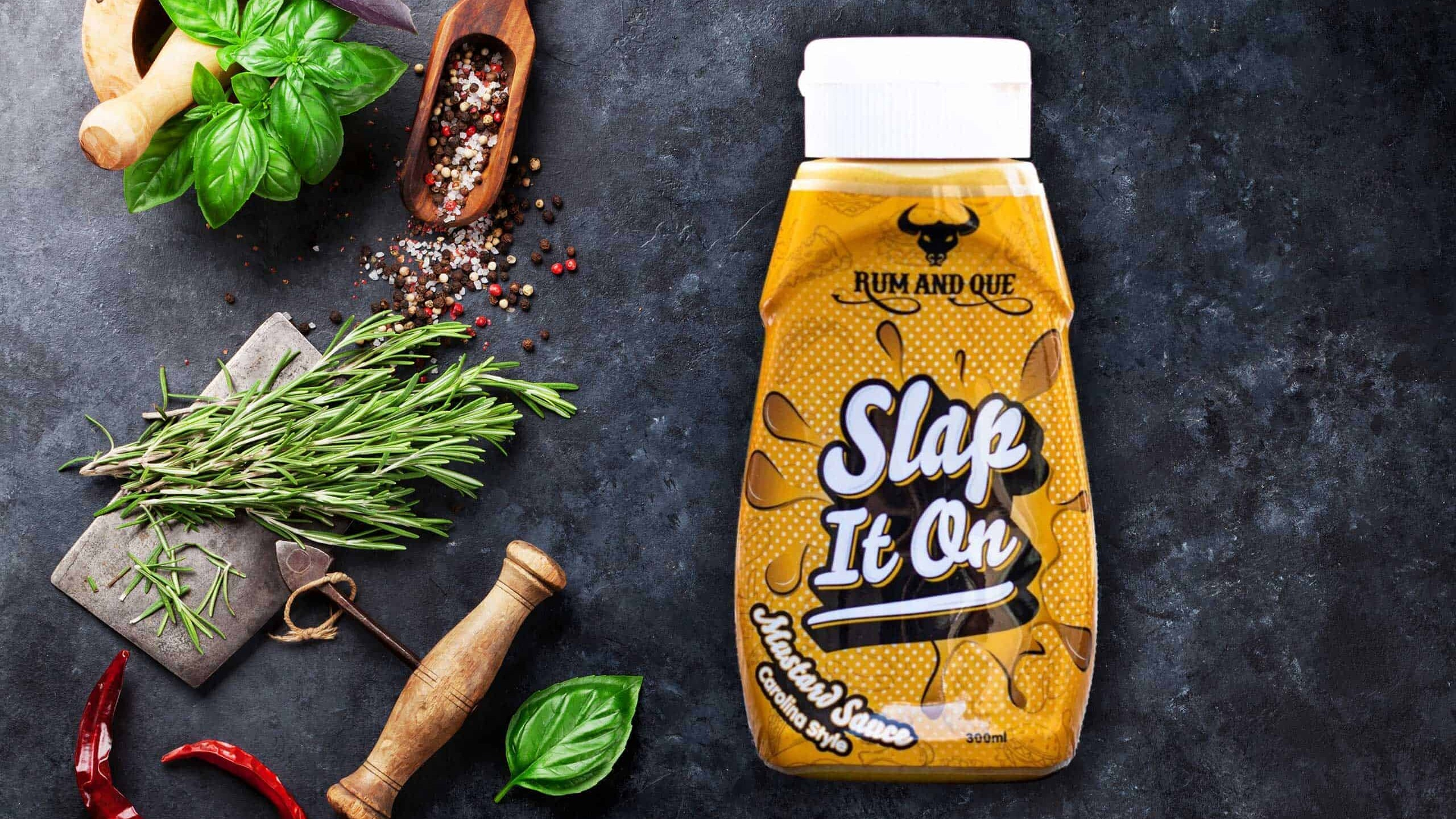 Rum & Que Slap It On Mustard Sauce