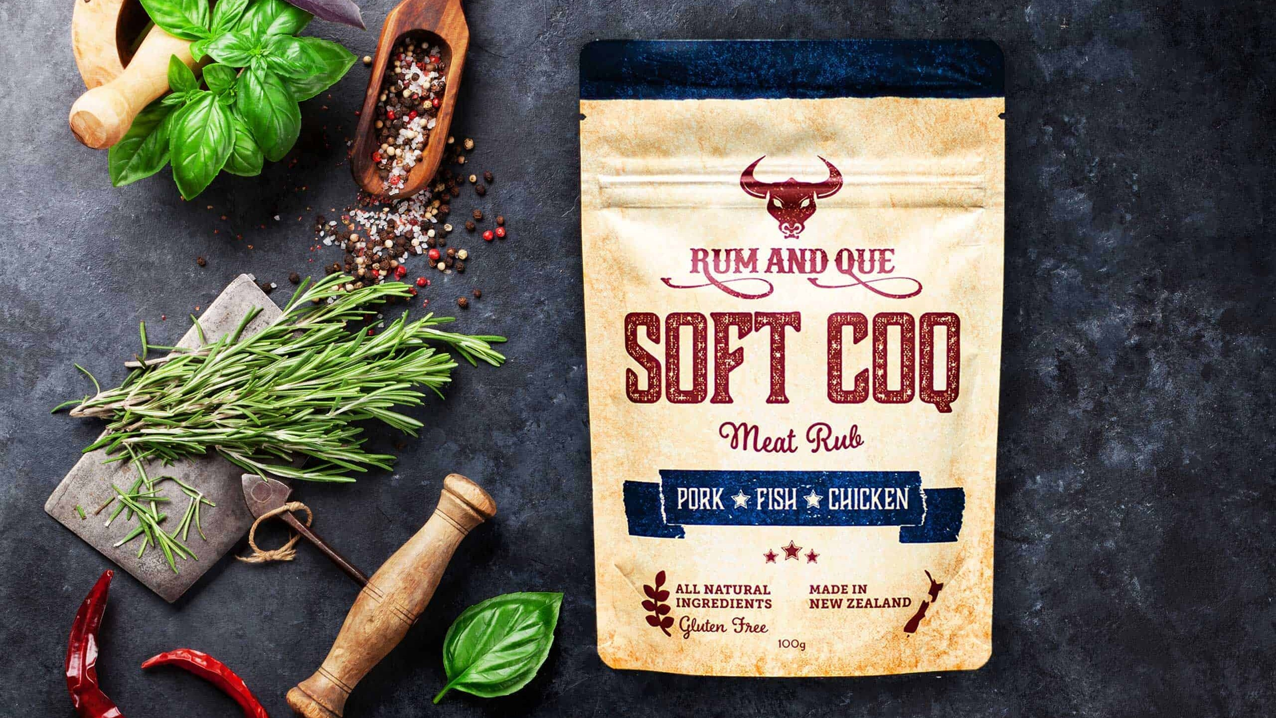 Rum & Que Soft Coq Meat Rub